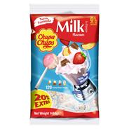 Chupa Chups Lollipops Milky Lutscher 1.440 g, 120 Stück