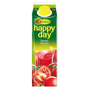 Happy Day Tomatensaft 100 % Fruchtgehalt - 12 x 1,00 l Packungen