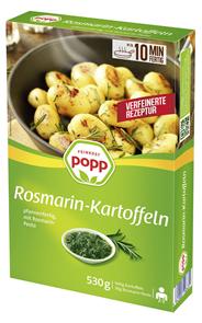 Popp Rosmarinkartoffeln 530 g Faltschachtel