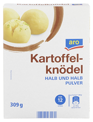aro Knödel halb & halb lose Mischung 320 g Packung