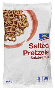 aro Salzbrezeln 250 g Beutel