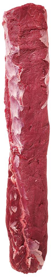 Neuseeländischer Hirschrücken frisch, ohne Knochen, ohne Fettauflage, Gastro-Zuschnitt, neuseeländische Herkunft, vak.-verpackt ca. 1,5 - 2 kg