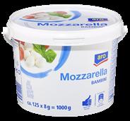 Horeca Select Mozzarella Minikugeln 45 % Fett 1 kg Eimer