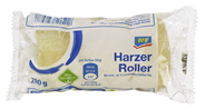 aro Harzer Rolle deutscher Käse aus Sauermilchkäse und Kümmel, 1 % Fett 200 g Packung