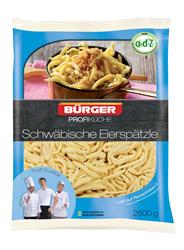 Bürger Schwäbische Eierspätzle vorgegart 2 x 2,5 kg Packungen