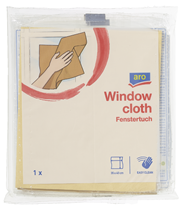 aro Fenstertuch 35 x 40 cm Naturbraun - 5 Stück