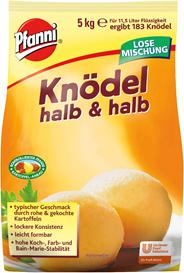 Pfanni Knödel halb & halb 5 kg Beutel