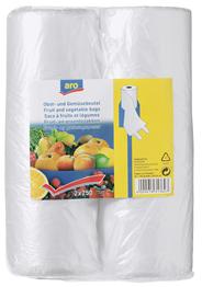 Aro Obst- und Gemüsebeutel Transparent - 2 x 250 Stück