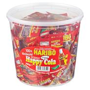 Haribo Happy Cola Portionsbeutel 100 Portionsbeutel à 9,8 g 980 g Dose