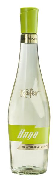Käfer Hugo Aperitivo Holunderblüte & Limette, weinhaltiges Getränk, süß 6 x 0,75 l Flaschen