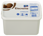 aro Eiscreme Schokolade 6 l Packung