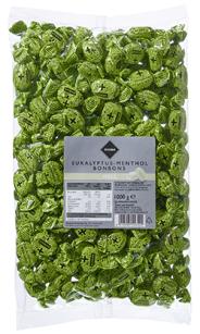 H-Line Eukalyptus Menthol Bonbons 1 kg Beutel