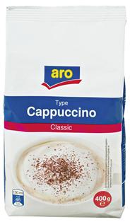 aro Cappucino Classic 400 g Beutel