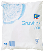 Aro Crushed Ice 6 x 2 kg Beutel