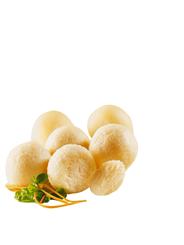 Schne-Frost Kartoffelklöße tiefgefroren, 33 Stück à 75 g, roh, küchenfertig gewürzt, halb und halb 4 x 2,5 kg Beutel