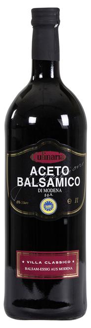 Culinaria Aceto Balsamico Classico 4 Jahre gereift 1 l Flasche