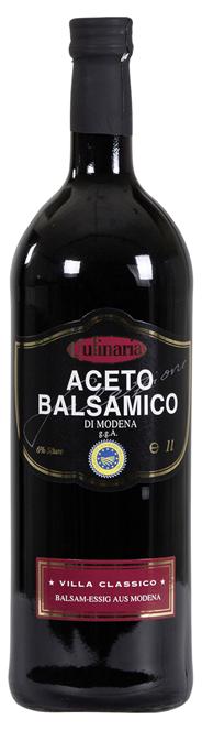 Culinaria Aceto Balsamico Classico 4 Jahre gereift 60 x 1 l Flaschen