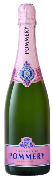 Pommery Brut Champagner Rosé 0,75 l Flasche