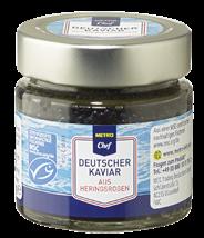METRO Chef MSC Deutscher Kaviar aus Heringsrogen - 100 g Glas