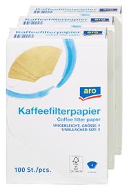 Aro Kaffeefilter GR.4 - 3 x 100 Stück