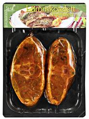 Lammkotelett mariniert frisch, vak.-verpackt, ca. 350 g Packung