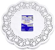 Horeca Select Tortenspitzen rund Ø 30 cm Weiß - 250 Stück