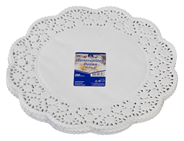 Horeca Select Tortenspitzen rund Ø 36 cm Weiß - 250 Stück