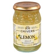Chivers Marmelade Lemon Jelly Zitronen-Gelee-Marmelade 340 g Tiegel