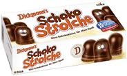 Dickmann's Schoko Strolche 10 Stück à 18 g 180 g Schachtel