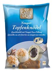Knorr Carte D' Or Topfenknödel mit Nougat Füllung, 1,5 kg 4 x 1,5 kg Beutel