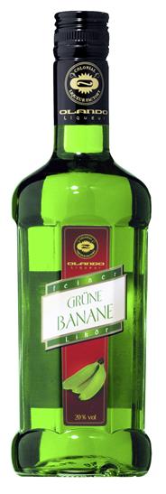Olando Feiner grüne Bananenlikör 20 % Vol. 6 x 0,5 l Flaschen
