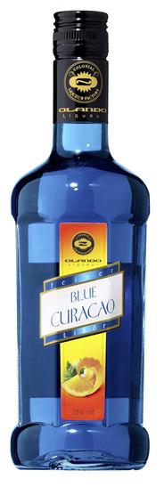 Olando Feiner Blue Curaçaolikör 20 % Vol. 6 x 0,5 l Flaschen
