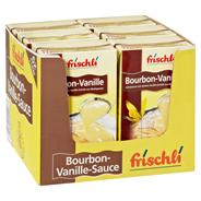 Frischli Bourbon Vanille Sauce 10,9 % Fett 6 x 1 l Faltschachteln