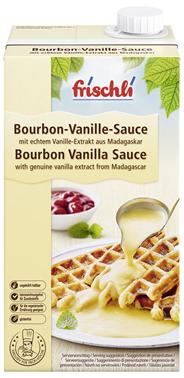 Frischli Bourbon Vanille Sauce 10,9 % Fett 144 x 1 l Faltschachteln