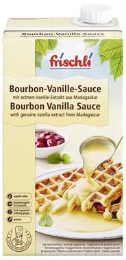 Frischli Bourbon Vanille Sauce 10,9 % Fett 216 x 1 l Faltschachteln