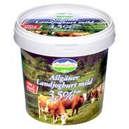 Weideglück Landjoghurt 3,5 % Fett 1 kg Eimer