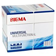 Sigma Kopierpapier Universal weiß DIN A4 Multifunctional, 80 g/m² 5 x 500 Blatt