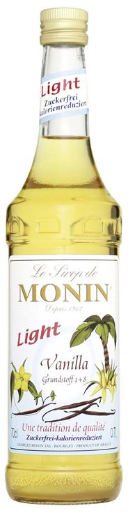 Monin Sirup Vanille light - 6 x 700 ml Flaschen