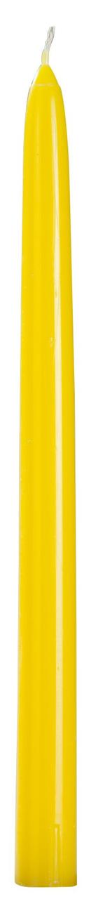 H-Line Spitzkerzen durchgefärbt Gelb 30 Stück