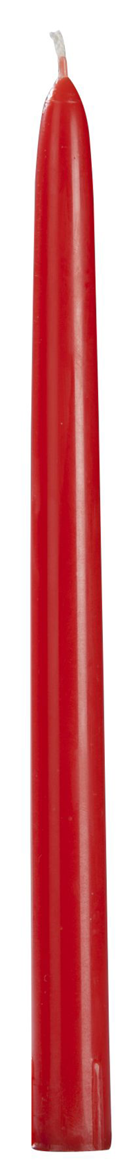 H-Line Spitzkerzen durchgefärbt Rot 30 Stück