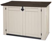 Gartenbox / Mülltonnenbox 240 l Beige