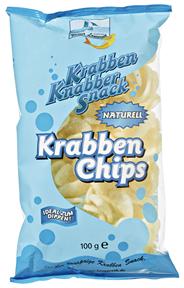 Lauenroth Krabben Chips 100 g Beutel