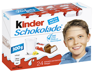 Ferrero Kinderschokolade 24 Stück á 12,5 g 160 x 300 g Karton