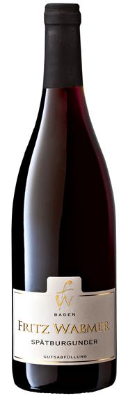 Wassmer Spätburgunder QbA Rotwein trocken - 6 x 6 Flaschen