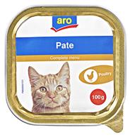 aro Katzenmenü Geflügel 100 g Schachtel