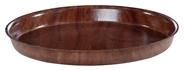 H-Line Serviertablett aus Holz, Ø ca. 33 cm, rund, rutschfest