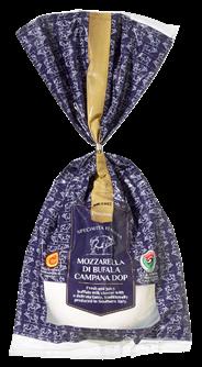 Cascina Verdesole Büffelmozzarella 52 % Fett i. Tr. 250 g Beutel