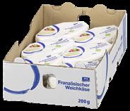 aro Fromage Moelleux französischer Weichkäse, 60 % Fett 12 x 200 g Packungen