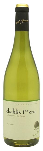 Emile Durant Chablis 1er Cru Weißwein 2012 0,75 l Flasche
