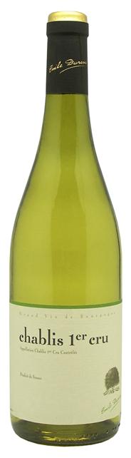 Emile Durant Chablis 1er Cru Weißwein 2012 6 x 0,75 l Flaschen